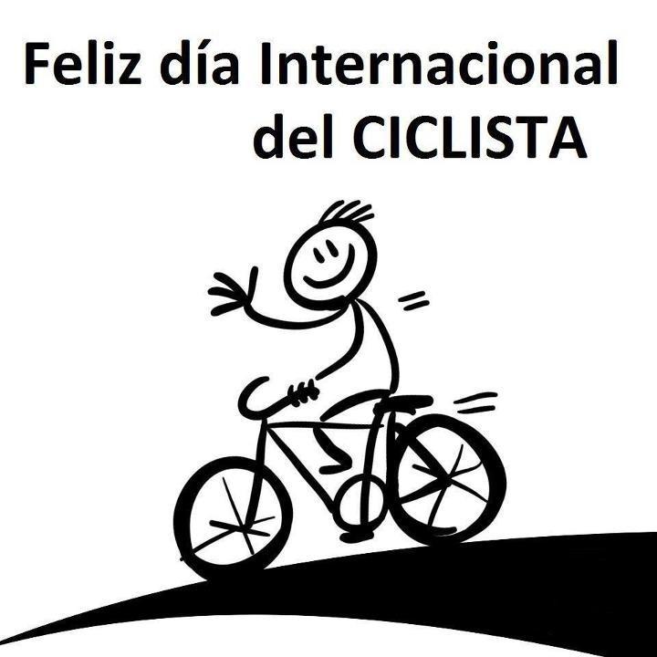 feliz día internacional del ciclista